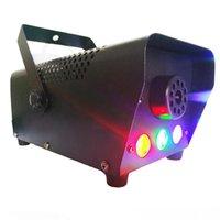 Macchina della nebbia della fase a LED che spedice veloce la discoteca variopinta della macchina del fumo colorato Mini LED Remote Fogger Ejector DJ Party di Natale