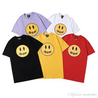 20ss Moda Uomo T-shirt estate fitness Casual Style O-Collo Tops maniche corte brand streetwear maschile di cotone della stampa della lettera Tee