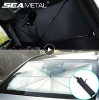 Carro-Sol Protector Parasol Auto da janela dianteira do pára-sol Covers pára-brisa do carro Sun Protector Interior Protection Acessórios