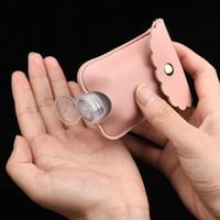 Portable Hand Sanitizer Bottle Pelle Custodia Studente Studente Borsa Scolastica Disinfezione Catena portachiavi in pelle Custodia in Pelle Custodia in Pelle Sanitizer