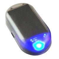 Auto LED Alarm Beleuchtung Simulieren Nachahmung Gefälschte Solarsicherheitssystem Warnung Flash Diebstahldiebstahl Lampe Universal Innendekoration