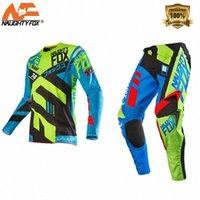 360 Divizion Mens Engrenage Motocross VTT Dirt Vélo Vélo hors route Pantalon Pant Pantalon Jersey Combo Ifij #