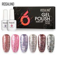 Gel Nagellack 15 ml Maniküre Set für Nagelkunst Aufkleber Dekoration Nagelgel Polsih Benötigen Sie Basis-Top-Mantellacke Lack