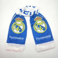 Real Madrid fãs de futebol cachecol lenço de futebol fãs respirável corrida esportes esportes ao ar livre