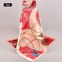 Lady Mode Satin professionelles Bild Schal in der formalen Anlass Sommer klassischer Stil Seidenschal elegante Frauen Schal neue Wraps