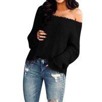 Sweaters pour femmes Pull d'hiver Femmes Casual Slim Fit Manches Longues Pour la mode Couleur Solide Sweter de Mujer Invierno 2021