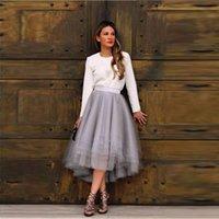 Elegant Silver Skirts Womens Satin Zip Hard Mesh Tutu Ankle Length Skirt Female jupe Maxi Skirt Long