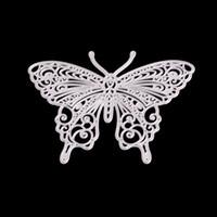 Kelebek Yusufçuk DIY Metal Kesme Elek Scrapbook Kart Albüm Kağıt Kabartma El Sanatları Kabartma Kesme Aracı Dies