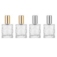 MUB - المحمولة البسيطة 10ML الزجاج الصلب لفة على زجاجة الزيت العطري السفر زجاجات العطور الفارغة التجميل الحاويات الرول زجاجة