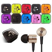 Kolbenkopfhörer 3,5mm Jack-Kopfhörer Headset In-Ear-Galvanik-Kopfhörer Stereo-Ohrhörer für Smartphone