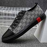 Newest Men Shoes Luxury Flat Walking Shoe Dress Party Wedding Shoes size 38-46 7
