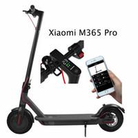Stock Bluetooth Smart App Control Plegado de scooter eléctrico de 8,5 pulgadas Neumático Ebike aleación de aluminio 2 ruedas Bicicleta eléctrica Scooter