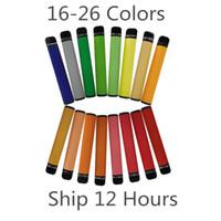Одноразовое устройство стручки 550mAh Аккумулятор 3,2 мл Ручки Vape Картридж упаковки Пустые Электронные сигареты Vapor выполненные на заказ Корабль 12 часов