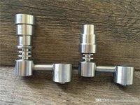 Universal Domeless Titan Nagel 4 in 1 14,5 mm 18,8 mm Dualfunktion GR2 Wachs Ölhukas Wasserleitungen Bong Ash DAB-Rigs