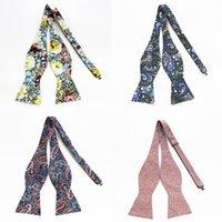 Boyun Kravatlar Gusleson Marka Pamuk Erkek Kendinden Kravat Yay Lüks Çiçek Papyon Erkekler Için Noeud Papillon İş Düğün Çok Renkler