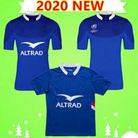 S3XL Novo 2020 França Rugby Jerseys National Equipe Home Blue League Camiseta 19 20 Polo T-shirt Homens Word Top Quality 2019 2020