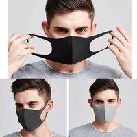 Máscaras Máscaras del opp DHL hijos adultos Bolsa plegable Earloop respiradores bucales lavable a prueba de polvo de esponja máscara máscaras protectoras LJJA1605