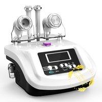 4en1 S-SHAPE RF Cavitation ultrasonique à vide Visage Soins de rajeunissement de la peau Amincissant Anti vieillissement machine Spa