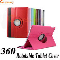 360 Degree Rotation PU Leather Cover Cases For iPad Mini 123...