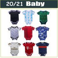 2020 2021 New Baby Jersey Mexiko Spanien ARGENTINIEN JAPAN Fußball-Trikot 1-24 Monate Fußballjerseys 1 Jahr 2 Jahre altes Kind Fußballhemden