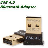 Bluetooth ADAPTER USB CSR 4.0 DONGLE RECIVER TRANSED Беспроводной для телефонного ноутбука планшетный компьютер PC Win10 7 LAN Доступ к телефону UP для Gescberric