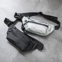 Waterproof Men Fanny Pack Fashion Running Chest Unisex Sling Crossbody Casual Hip Belt Bag Women Waist Packs MX200717