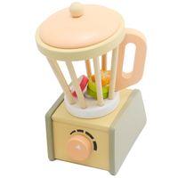 Juguetes de madera para bebés del extractor de jugo de madera para niños y niños Pretend Play and Dress-Up Kitchens Play Food