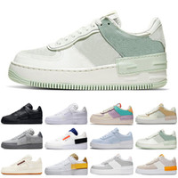 nike air force force airforce af1 just do it shadow type 1 n354 hombres mujeres zapatos para correr sail pale outdoor entrenadores deportivos zapatillas de deporte corredores