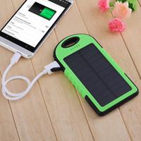 12000 мАч солнечная энергия банка USB портативное зарядное устройство Открытый туристический туристический аккумулятор 12LED Light для iPhone Android