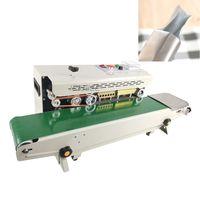 Vente chaude multifonctionnelle alimentaire Scellant verticale bande continue Scellant automatique imprimable Date de film Sac thermoscellage machine