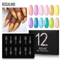 Rosalind ongles gel polonais de gel pour manucure UV couleurs gel vernis à ongles semi permanent hybride hybride nage art gel vernis kits