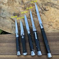 13 - 8.5 дюйма итальянской мафии автоматический тактический нож 440C 58HRC сатин одноклассник EDC охотничьи тактические боевые инструменты ножи
