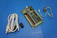 AKZ250 4 eixos CNC Motion Controller USB Cartão Mach3 200KHz Breakout placa de interface