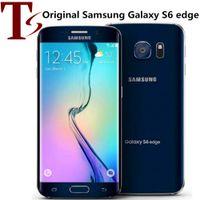 Reformado Original Samsung Galaxy S6 Edge G925F G925A G925V G925T G925V G925T 5.1 polegada OCTA CORE 3GB RAM 32GB ROM 4G LTE Telefone Inteligente