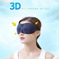Yeni 3D Uyku Maskesi Hızlı Uyku Göz Maskesi Göz Demeği Kapak Gölge Yama Kadın Erkek Yumuşak Taşınabilir Körü Körüne Seyahat Sleepmasker Ücretsiz Kargo