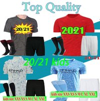 Size 16-28 New 2020 2021 kids soccer jersey kit jersey 20 21 MESSI roNALDO kids football shirts kits camiseta de fútbol maillot de foot
