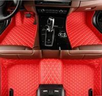 3D فاخر مخصص السيارات الطابق مرسيدس AMG-الفئة A AMG (المستوردة) 2014 ~ 2018 الكلمة حصيرة سيارة ماتس غير سامة و inodorous