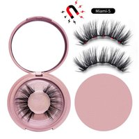 Five Magnetic make-up Kit No glue Magnetic 5D false eyelashes Life like and natural Reusable Convenient and quick Long lasting !