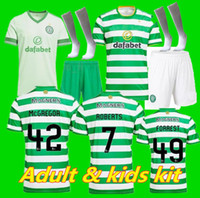 Adultes kit enfants + chaussette 20 21 MCGREGOR GRIFFITHS Mens Football Maillots Celtic SINCLAIR FORREST BROWN Rogić CHRISTIE Accueil manches courtes Football