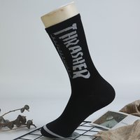 Горячая продажа подросток студент хип-хоп стиль Длинные носки Письмо Вышивание Спортсмены гетры нашивки носки для мальчика