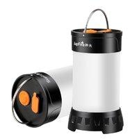 SupFire recarregável Ultra Bright LED Lanterna Camping Lâmpada portátil 5 Modos Survial Lamp Melhor para caminhadas ao ar livre Indoor, Modelo T1
