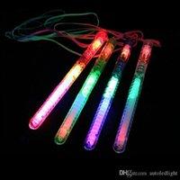 العصي لون LED اللمعان الوهج العصا الخفيفة، عصا الصمام اللمعان حتى الضوء حفلة عيد الميلاد عيد الميلاد مهرجان كامب الجدة اللعب