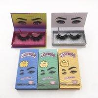Neue Lashwood-Wimpern-Box-magnetische Wimpern-Box-gedrucktes Auge kundenspezifische Wimpern-Box frei von Versand Großhandel Private Label