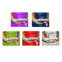 Saco de skittles 400mg mylar malas vazias arco-íris zíper embalagem melhor bolsa pacote de armazenamento de pacote dhl fedex free