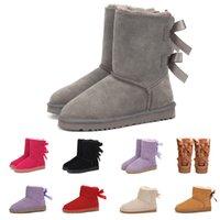 Vendita calda 2020 nuovi arrivi neve avvio australiano per la donna di lusso avvio progettista della caviglia alta ginocchio piattaforma di inverno della signora pelliccia ragazza stivali da donna