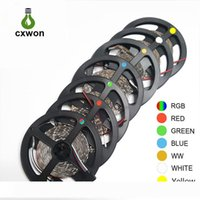 Decorazione LED striscia SMD3528 impermeabile 5m 12V LED striscia 300LED 600leds flessibile 60led m 120 m portato striscia di luce per auto