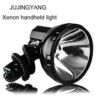 Lanternas portáteis brilhantes hid hollight 35-220w xenon busca luz de busca 12v holofotes