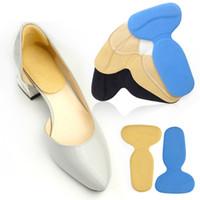 1Pair Frauen T-Form High Heeled Grips Liner Bogen Unterstützung Orthesen Einlegesohlen Fuß Heel Protector Kissen Pads Schuhe Zubehör