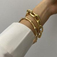Gliederkette Weinlese-Münzen-Armband kreativer Bambus Armband 2PCS / gesetzte Art und Weise Punk Strand Armband-Charme-Armband-Frauen-Partei-Freundschaft Schmuck