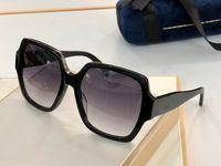 küçük Perçinler 0767S maske ile Yeni moda 0726 güneş gözlüğü bağlı mercek büyük beden oval çerçeve popüler gözlük en kaliteli güneş gözlüğü